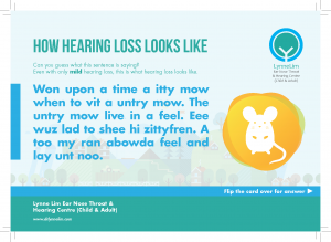 How Hearing Loss looks like